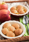 Θίχουλο μπισκότων της Apple Στοκ εικόνα με δικαίωμα ελεύθερης χρήσης