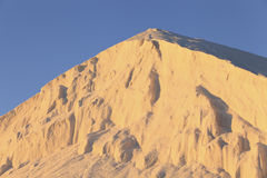 Θαλάσσια αλατισμένη σύνοδος κορυφής Στοκ Φωτογραφίες
