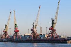 θαλάσσιος λιμένας γερα&n Στοκ εικόνες με δικαίωμα ελεύθερης χρήσης