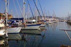 θαλάσσιος λιμένας Τουρ&k Στοκ φωτογραφία με δικαίωμα ελεύθερης χρήσης