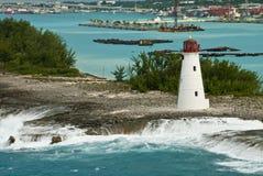 θαλάσσιος λιμένας φάρων Στοκ φωτογραφία με δικαίωμα ελεύθερης χρήσης