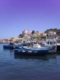 θαλάσσιος λιμένας ponza νησιώ& στοκ φωτογραφίες