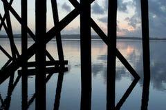 θαλάσσιος περίπατος κάτ&om Στοκ φωτογραφία με δικαίωμα ελεύθερης χρήσης