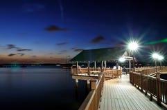 Θαλάσσιος περίπατος Changi, περίπατος Kelong Στοκ φωτογραφία με δικαίωμα ελεύθερης χρήσης