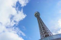 Θαλάσσιος πύργος Yokohama σε Yokohama, Ιαπωνία Στοκ φωτογραφία με δικαίωμα ελεύθερης χρήσης