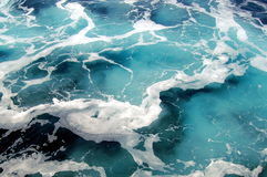 θαλάσσιο νερό Στοκ εικόνες με δικαίωμα ελεύθερης χρήσης