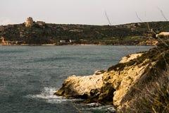 Θαλάσσιο πανόραμα Στοκ εικόνες με δικαίωμα ελεύθερης χρήσης