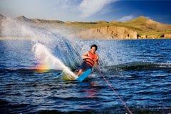 θαλάσσιο σκι στοκ εικόνες