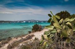ΘΑΛΑΣΣΑ cala Sabina στο νησί της Σαρδηνίας Στοκ φωτογραφία με δικαίωμα ελεύθερης χρήσης
