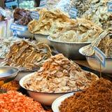 θαλασσινά αγοράς hua 02 hin Στοκ Φωτογραφία