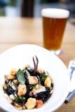 θαλασσινά ζυμαρικών πικάν&t Στοκ φωτογραφίες με δικαίωμα ελεύθερης χρήσης