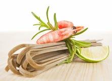 θαλασσινά ζυμαρικών Στοκ εικόνες με δικαίωμα ελεύθερης χρήσης