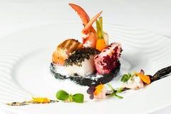 θαλασσινά πιάτων Στοκ Εικόνες