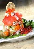 θαλασσινά σαλάτας Στοκ Εικόνα