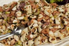 θαλασσινά σαλάτας antipasto Στοκ φωτογραφία με δικαίωμα ελεύθερης χρήσης