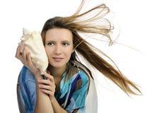 θαλασσινό κοχύλι κοριτ&sigma Στοκ εικόνες με δικαίωμα ελεύθερης χρήσης