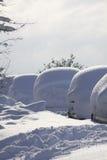 θαμμένη γραμμή αυτοκινήτων Στοκ εικόνες με δικαίωμα ελεύθερης χρήσης