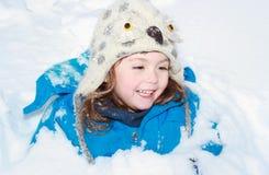 Θαμμένος στο χιόνι στοκ εικόνες