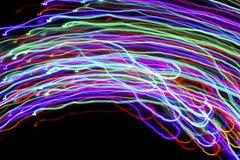 Θαμπάδα κινήσεων των φω'των αφηρημένη ανασκόπηση ζωηρόχρωμη Στοκ φωτογραφία με δικαίωμα ελεύθερης χρήσης