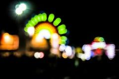 Θαμπάδα λούνα παρκ Στοκ Φωτογραφία