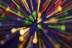 θαμπάδα πολύχρωμη Στοκ Εικόνα
