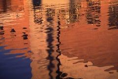 Θαμπάδα - αντανάκλαση στοκ εικόνες
