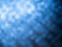 Θαμπάδα του μπλε bokeh Στοκ εικόνα με δικαίωμα ελεύθερης χρήσης