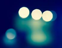 Θαμπάδα bokeh του καμμένος ελαφριού υποβάθρου Στοκ Φωτογραφία