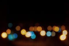θαμπάδες μέσω του κουνουπιού καθαρού στοκ εικόνες με δικαίωμα ελεύθερης χρήσης