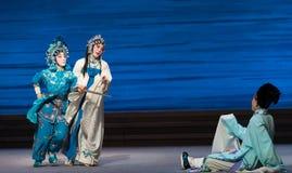 """Θανάτωση αδελφός--νόμος-Kunqu Opera""""Madame άσπρο Snake† Στοκ Εικόνα"""