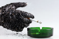 Θανατώσεις καπνίσματος Στοκ εικόνα με δικαίωμα ελεύθερης χρήσης