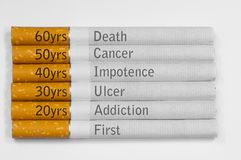 Θανατώσεις καπνίσματος Στοκ Εικόνες