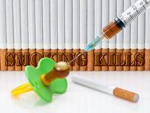 Θανατώσεις καπνίσματος Στοκ Φωτογραφίες