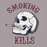 Θανατώσεις καπνίσματος Στοκ φωτογραφία με δικαίωμα ελεύθερης χρήσης