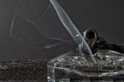 Θανατώσεις καπνίσματος Στοκ εικόνες με δικαίωμα ελεύθερης χρήσης