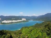 Θαυμάσια άποψη σε Shek Ο, Χονγκ Κονγκ στοκ εικόνες με δικαίωμα ελεύθερης χρήσης