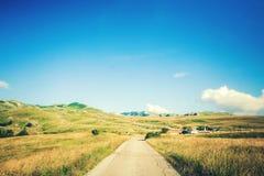 Θαυμάσια άποψη στα βουνά στο εθνικό πάρκο Durmitor στο Μαυροβούνιο, Βαλκάνια Ευρώπη Καρπάθιος, Ουκρανία, Ευρώπη Ταξίδι μέσω Monte Στοκ φωτογραφία με δικαίωμα ελεύθερης χρήσης