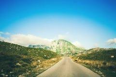 Θαυμάσια άποψη στα βουνά στο εθνικό πάρκο Durmitor στο Μαυροβούνιο, Βαλκάνια Ευρώπη Καρπάθιος, Ουκρανία, Ευρώπη Ταξίδι μέσω Monte Στοκ Φωτογραφίες