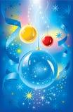 Θαυμάσια απεικόνιση Χριστουγέννων. Διάνυσμα. Στοκ φωτογραφίες με δικαίωμα ελεύθερης χρήσης