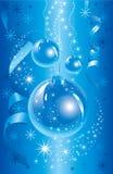 Θαυμάσια απεικόνιση Χριστουγέννων. Διάνυσμα. Στοκ Φωτογραφία