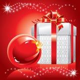 Θαυμάσια απεικόνιση Χριστουγέννων. Διάνυσμα. Στοκ εικόνες με δικαίωμα ελεύθερης χρήσης