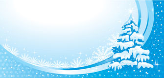 Θαυμάσια απεικόνιση Χριστουγέννων. Διάνυσμα. Στοκ Φωτογραφίες