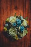 Θαυμάσια γαμήλια ανθοδέσμη πολυτέλειας Στοκ Φωτογραφίες