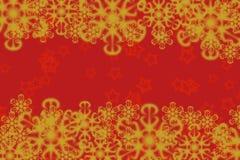 Θαυμάσια γραφική δαντελλωτός κίτρινη snowflakes διαμόρφωση απεικόνιση αποθεμάτων