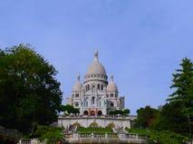 Θαυμάσια εικόνα Montmartre στο Παρίσι Στοκ φωτογραφία με δικαίωμα ελεύθερης χρήσης