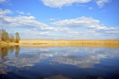 Θαυμάσια φύση της λίμνης Seliger στοκ φωτογραφία με δικαίωμα ελεύθερης χρήσης