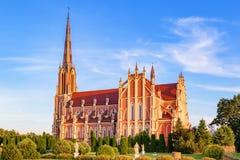 Θαυμάσια όμορφη εκκλησία της ιερής τριάδας σε Gerviaty στοκ φωτογραφίες με δικαίωμα ελεύθερης χρήσης