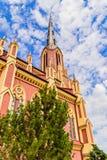 Θαυμάσια όμορφη ιερή εκκλησία τριάδας σε Gervyaty στοκ εικόνες