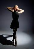 θαυμάσιες νεολαίες ballerina Στοκ Εικόνες