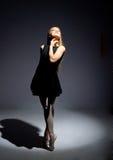 θαυμάσιες νεολαίες ballerina Στοκ εικόνες με δικαίωμα ελεύθερης χρήσης